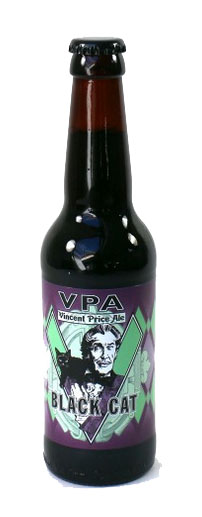 Vincent Price Ale: Black Cat