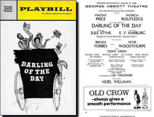 Darling of the Day | Original Playbill