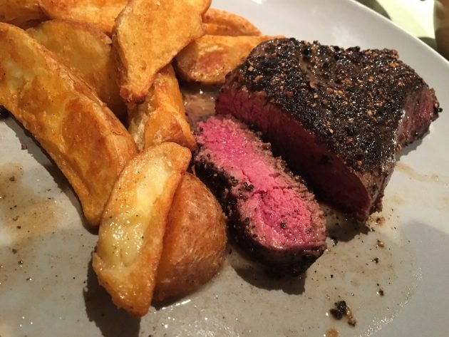 Steak Au Poivre (Black Pepper Steak)