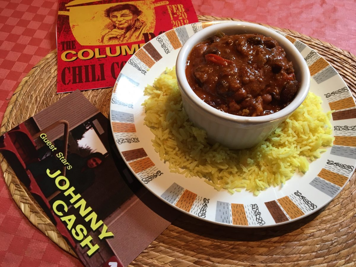 Cooking With Columbo | The Johnny Cash Chili Bowl Cook-along