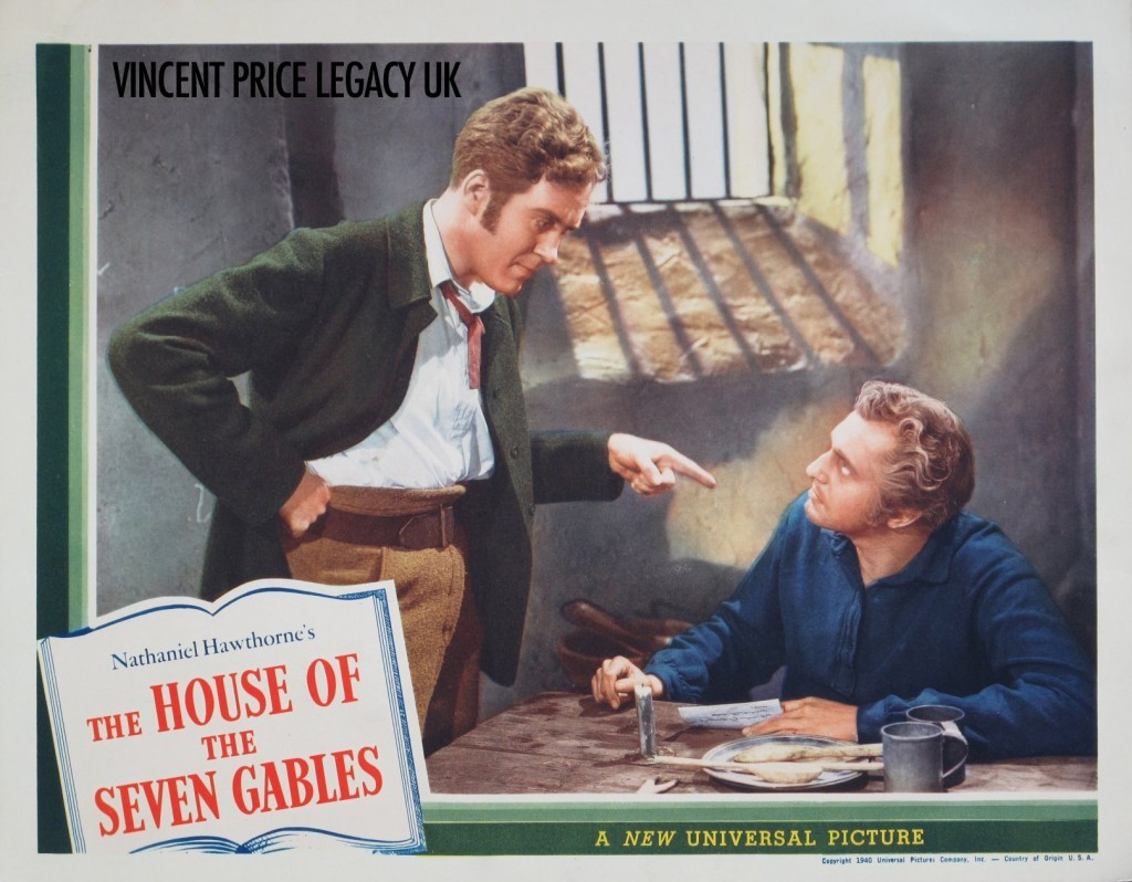 The House of Seven Gables (1940) | Original US Lobby Card