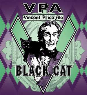 Vincent Price Ale - Black Cat