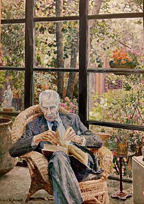 Vincent Price Late Portrait