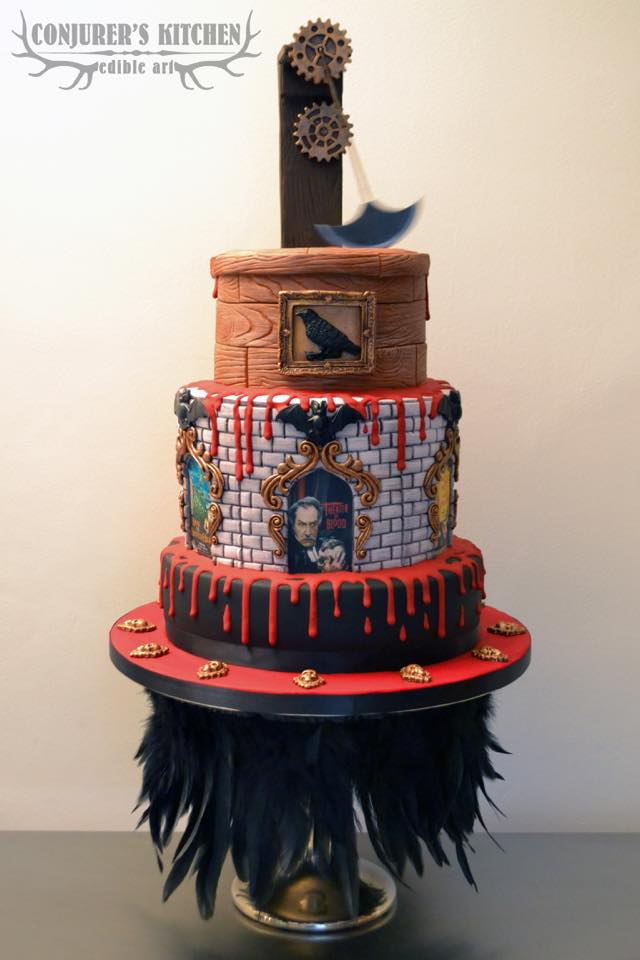 Vincent Price's 106th Birthday Cake