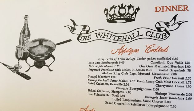 The Whitehall Club, Chicago