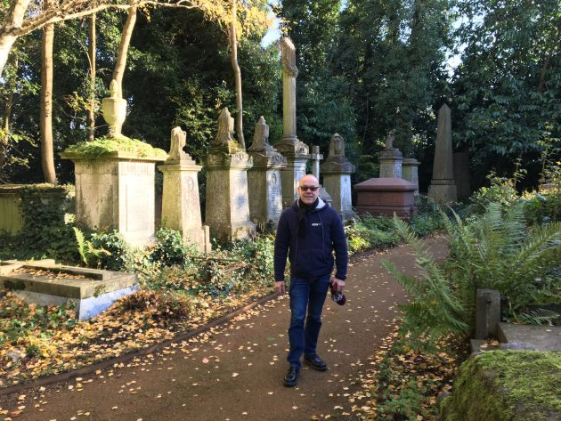 Dr Phibes at Highgate Cemetery
