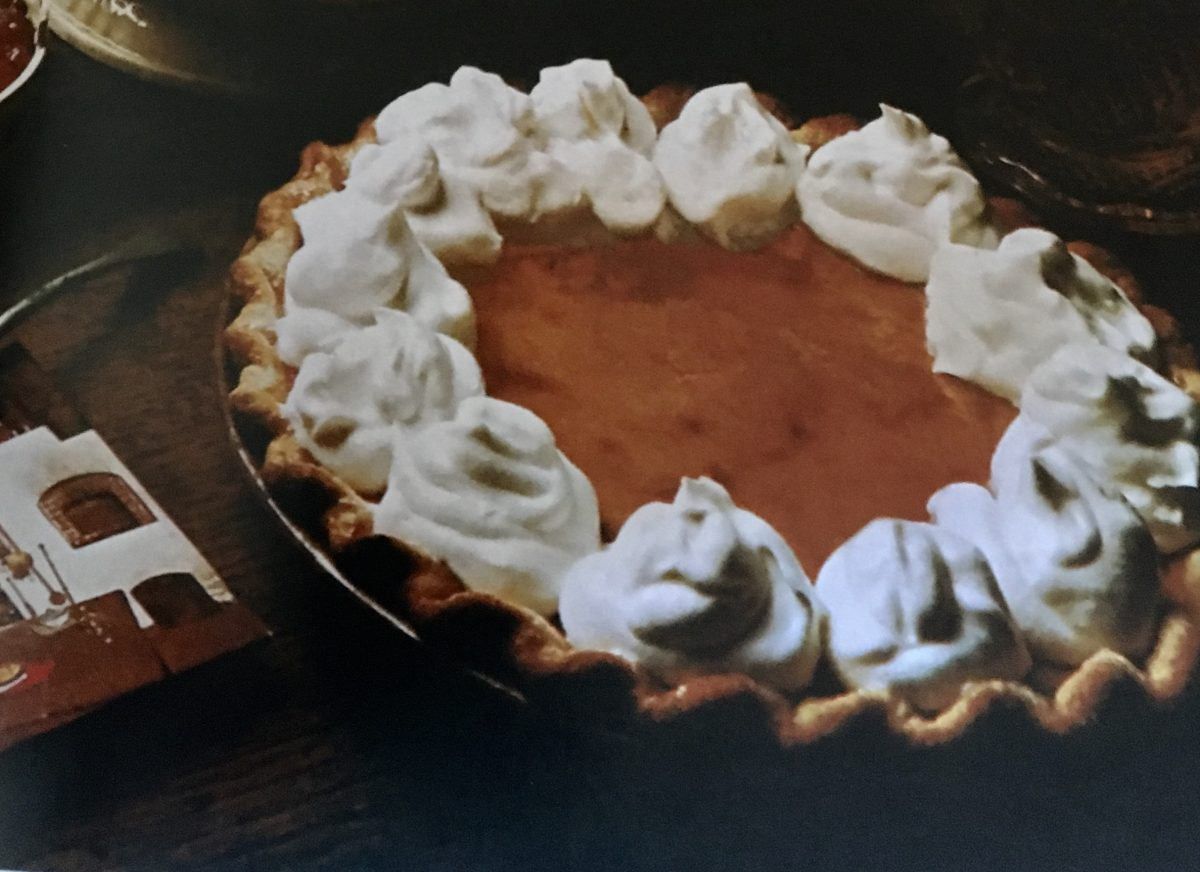 Vincent Price's Pumpkin Pie makes for a perfect Thanksgiving treat!