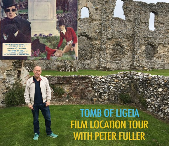 Tomb of Ligeia at Castle Acre | Mapping the Norfolk film location