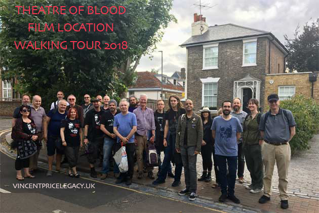 Theatre of Blood Film Location Walking Tour 2018