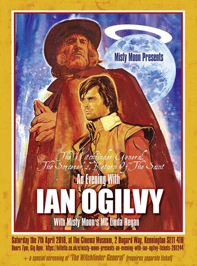 Ian Ogilvy by Graham Humphreys
