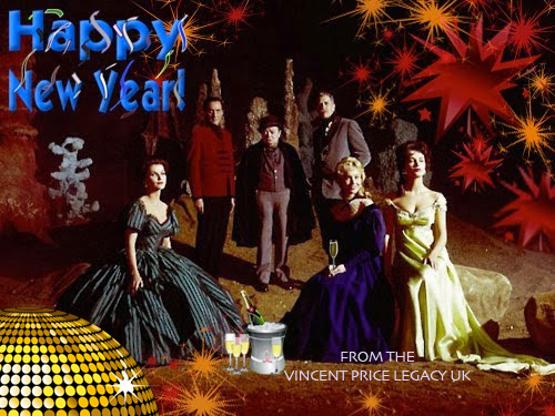 Vincent Price Legacy UK New Year 2018
