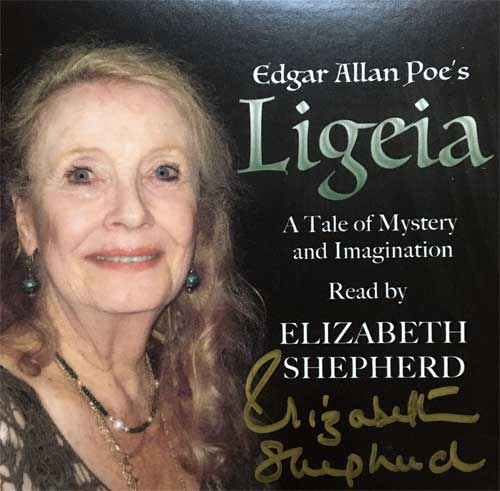 Elizabeth Shepherd reads Edgar Allan Poe's Ligeia