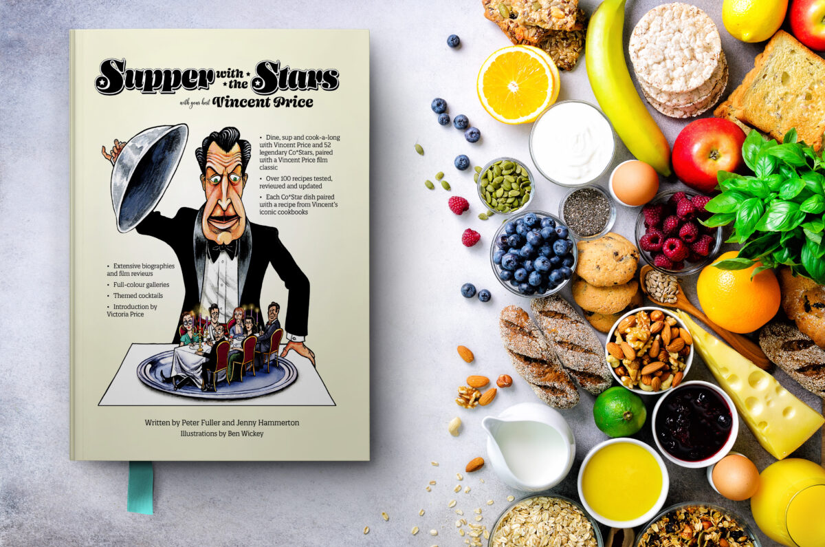 COMING SOON! Supper with the Stars – a new cookbook hosted by Vincent Price