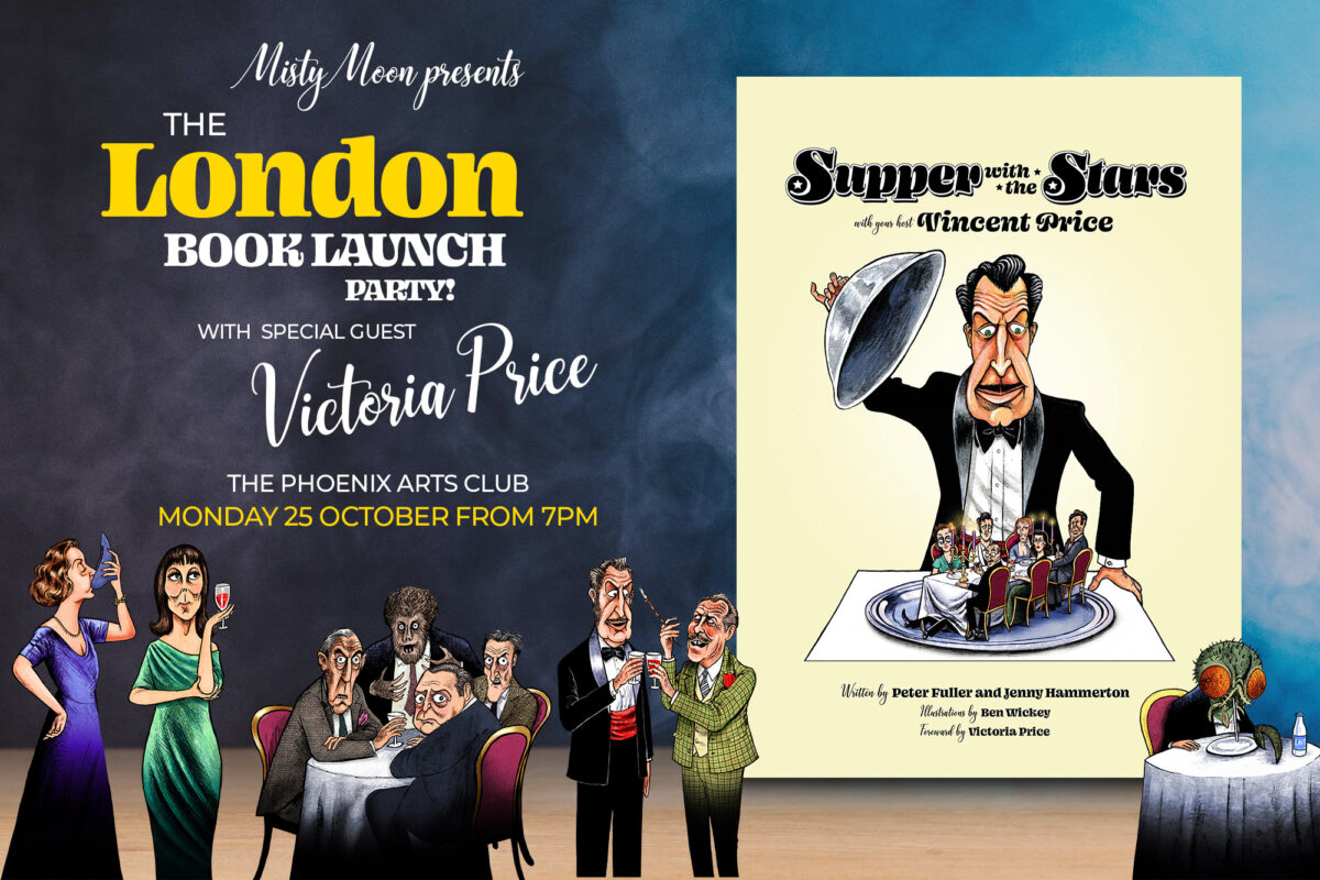 THE LONDON BOOK LAUNCH OF SUPPER WITH THE STARS